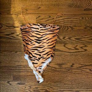 Really cute tiger/cheetah tigermist bodysuit!